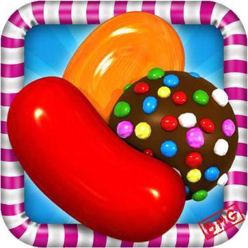 糖果粉碎传奇  Candy Crush Saga