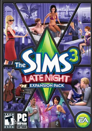 模拟人生3:夜店人生 The Sims 3: Late Night Expansion Pack