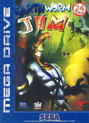 蚯蚓战士 Earthworm Jim