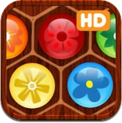 Flower Board HD - A fun & addictive line puzzle game (brain relaxing games) (iPad)