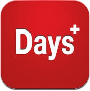 Days+ - The Most Beautiful Day Counter (iPhone / iPad)