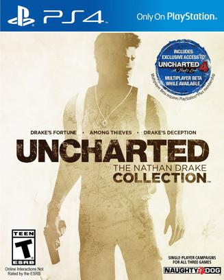 秘境探险德雷克三部曲合集 Uncharted: The Nathan Drake Collection