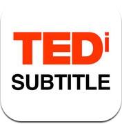 TEDiSUB - Enjoy TED Talks with Subtitles (iPhone / iPad)