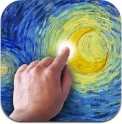 Starry Night Interactive Animation (iPhone / iPad)