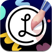 Lake Drawing Book: Art therapy to reduce stress (iPhone / iPad)