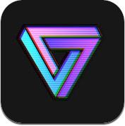 VaporCam-蒸汽波风格贴纸滤镜相机 (iPhone / iPad)