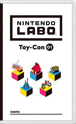 任天堂Labo 01:组合套装 Nintendo Labo Toy-Con 01: Variety Kit
