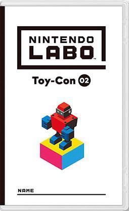 任天堂Labo 02:机器人套装 Nintendo Labo Toy-Con 02: Robot Kit