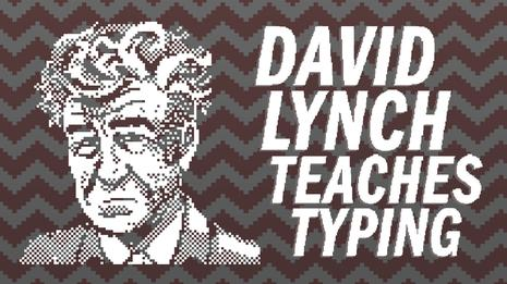 大卫林奇教你打字 David Lynch Teaches Typing