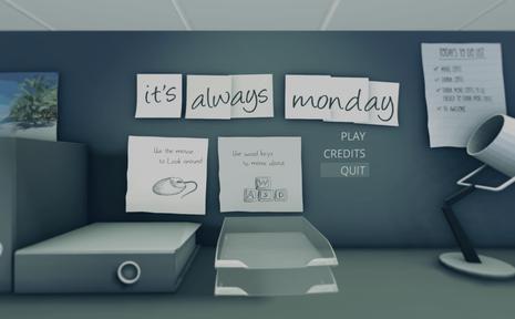 重复星期一 it's always monday