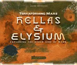 改造火星:地图扩 Terraforming Mars: Hellas & Elysium