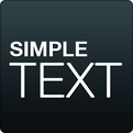 Simple Text-Text Icon Creator (Android)