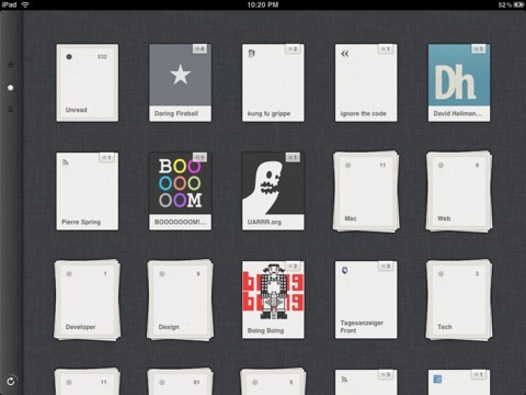 Reeder for iPad (iPad)应用截图_1