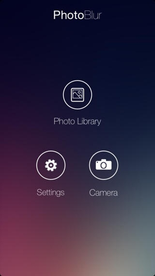 PhotoBlur (iPhone / iPad)应用截图_4