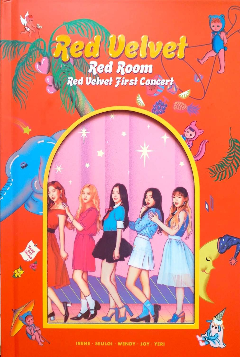 RED VELVET FIRST CONCERT RED ROOM