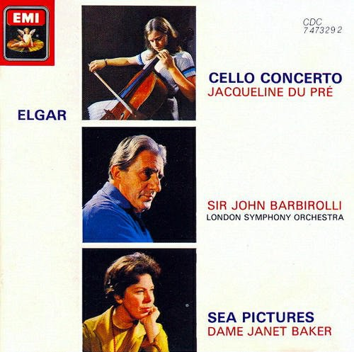 Jacqueline du Pre... - Elgar: Cello Concerto / Sea Pictures