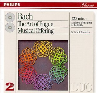 Neville Marriner... - Bach: The Art of Fugue / Musical Offering