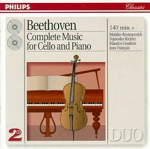 Maurice Gendron... - Beethoven: Complete Music for Cello & Piano