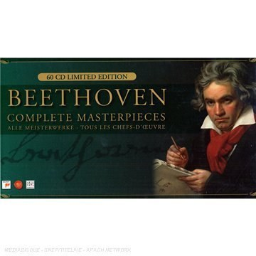 David Zinman... - Beethoven: Complete Masterpieces (Germany) (60 CD Limited Edition Box Set)