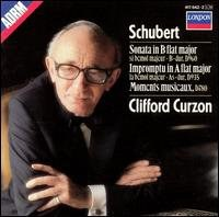 Clifford Curzon - Schubert: Sonata in B flat major; Impromptu in A flat major; Moments musicaux
