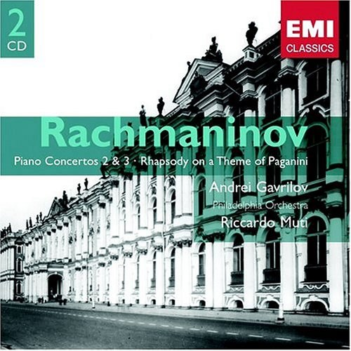 Rachmaninoff Piano Concertos Nos. 2 & 3 / Rhapsody on a Theme of Paganini / Muti, Gavrilov