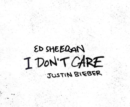 Ed Sheeran... - I Don't Care