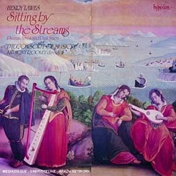H Lawes: Sitting by the Streams - Psalms, Ayres and Dialogues /Consort of Musicke * Rooley