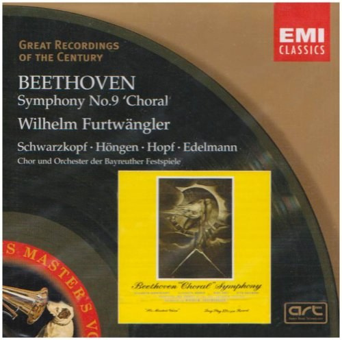 Wilhelm Furtwängler - Beethoven Symphony No. 9 In D Minor, Op. 125 'Choral'