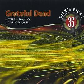 Grateful Dead - Dick's Picks Vol. 35 San Diego, CA 8/7/71, Chicago, IL 8/24/71 (4-CD Set)
