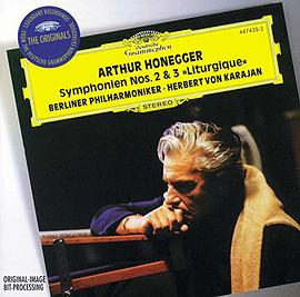 "Honegger: Symphony No. 2 for String Orchestra and Trumpet; Symphony No. 3 ""Liturgique"" / Stravinsky: Concerto in D for String Orchestra"
