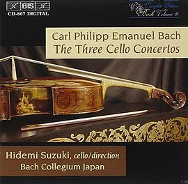 Bach, C.P.E.: The Three Cello Concertos