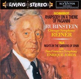 Rachmaninov: Rhapsody on a Theme of Paganini; de Falla: Nights in the Gardens of Spain; Chopin: Grande Polonaise